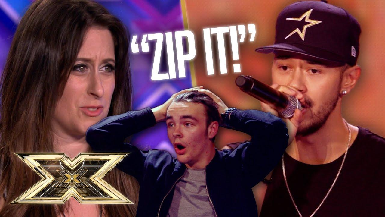 SASSIEST contestants versus SIMON COWELL! The X Factor UK