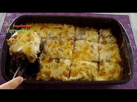 Beşamel Soslu Patates Oturtma Tarifi -İftara Özel Yemekler/ Hayalimdeki Yemekler