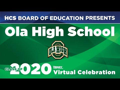 Ola High School 2020 Virtual Graduate Celebration Video