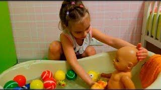 Беби Бон СБОРНИК видео для детей про кукол Еда для кукол и купание беби бонов