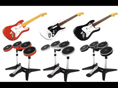 New Rock Band 4 E3 2015 Drum Kit, Guitars and Mic Instruments & Hardware   Step Forward or Backwards?