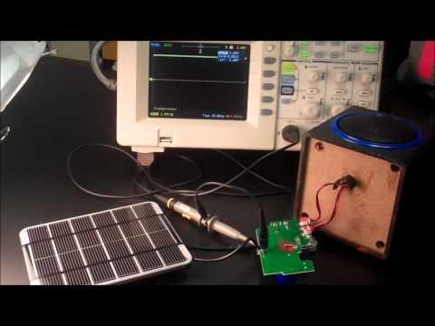Deja presents her solar powered speaker first milestone!