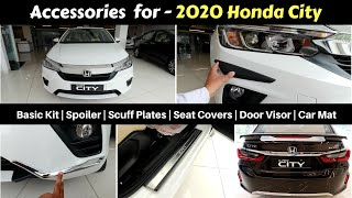 Accessories for 2020 Honda City with Prices   Ujjwal Saxena