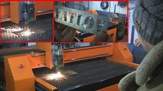 лазерный станок ЧПУ по резке металла как это делают своими руками