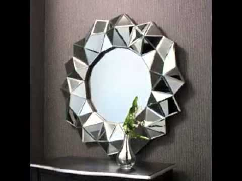 Art deco wall mirror design ideas - YouTube