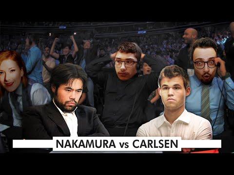 Magnus Carlsen vs Hikaru Nakamura w Alireza Firouzja, @GothamChess and @Anna Rudolf Commentary