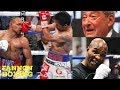 MANNY PACQUIAO MUST FACE MAYWEATHER THEN RETIRE BEFORE HE GETS HURT SAYS ARUM...HOPKINS DISAGREES