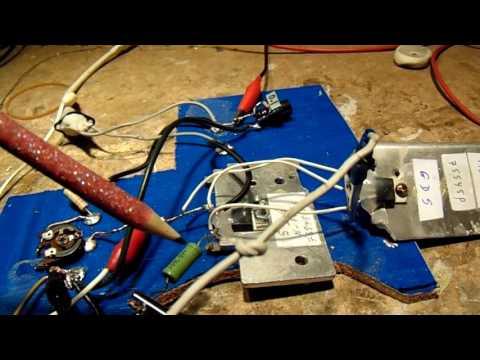 2 mosfets paralleled class A amplifier approx 1 Watt (schematic)