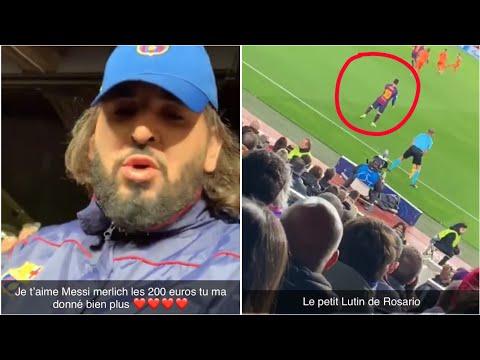 Mohamed Henni VOIT Messi EN VRAI POUR LA 1ER FOIS !