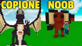 CHI COPIA MEGLIO VINCE! 2  - NOOB VS COPIONE - Minecraft ITA