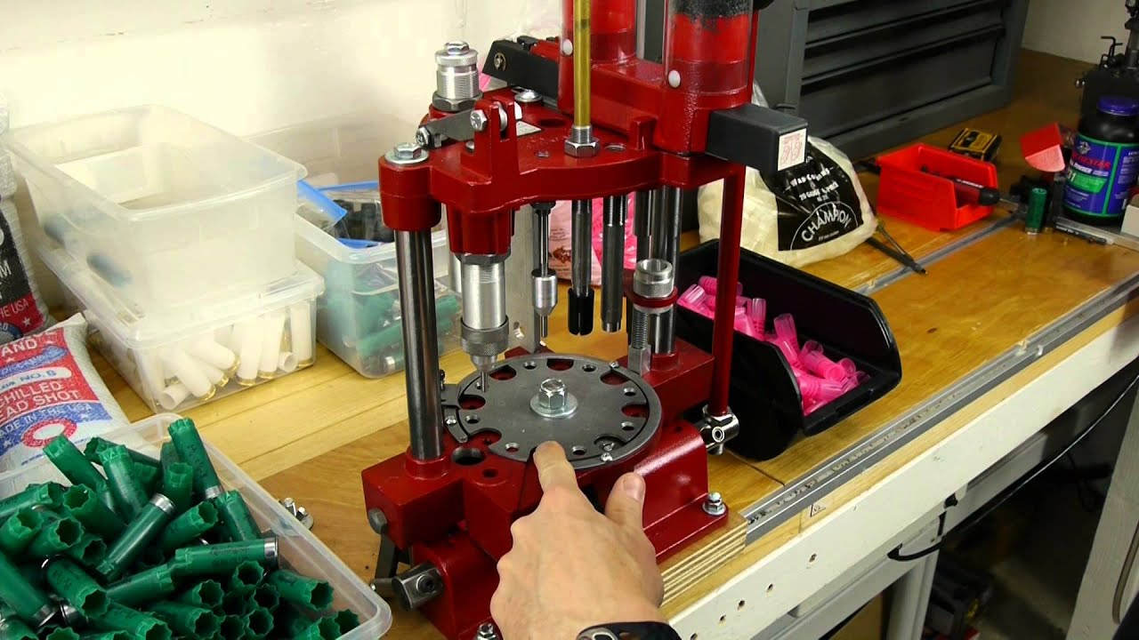 Hornady 366 Shotshell Reloading Press Overview Youtube