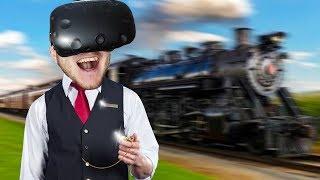СБЕЖАВШИЙ КОНДУКТОР В ВИРТУАЛЬНОЙ РЕАЛЬНОСТИ! - Conductor VR