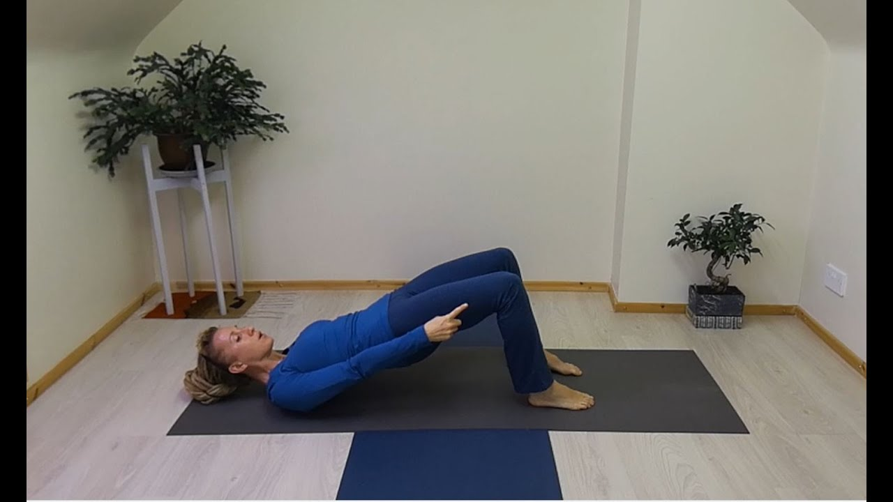 Shoulder Bridge for Lumbar Lordosis - Pilates Exercises for Lower Back Pain