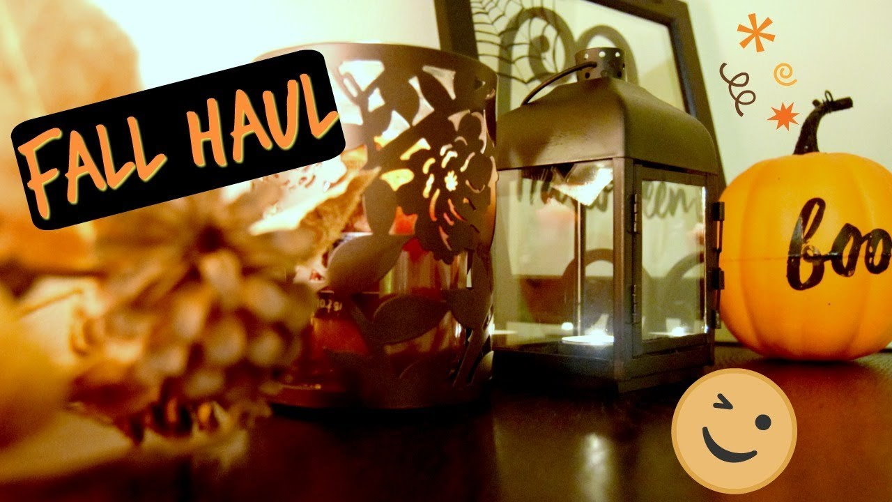 cheap halloween fall decor target and dollar tree fall haul - Target Halloween Tree