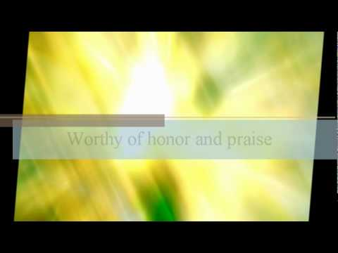 You are Holy, Lord - Christ for the Nations.wmv