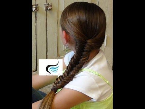 (fishtail-braid)-hairstyles-tutorials