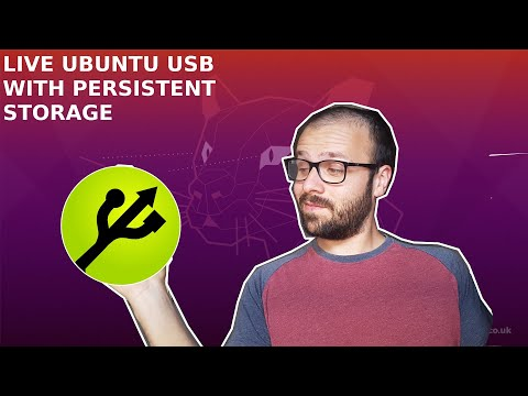 Create Ubuntu Live USB With Persistent Storage