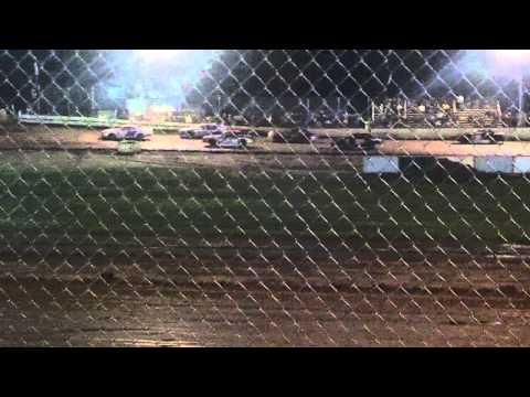 Feature win by todd brass on 6-8-13 at tnt speedway racing street stock 2T
