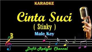 Cinta Suci  (Karaoke) stinky Nada Cowok Original