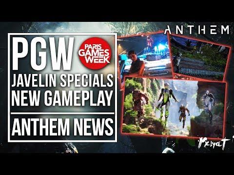 Anthem Game | Paris Games Week, Storm and Interceptor Ultimates, New Gameplay & More!