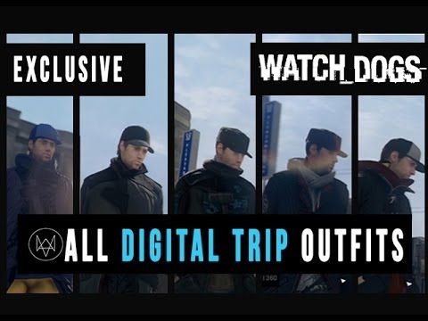 Watch Dogs  Psychedelic Outfit