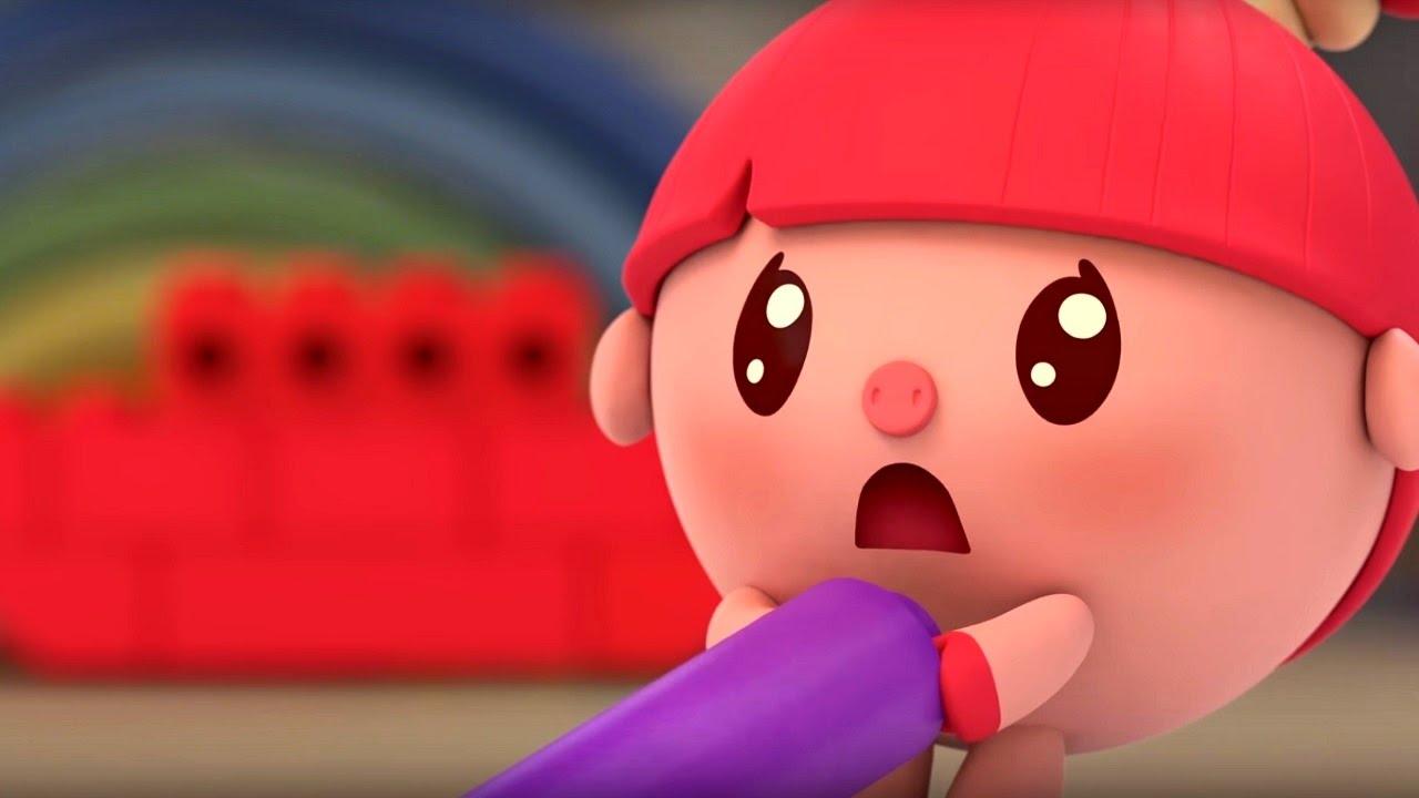 80702a4b6b3 Малышарики - Труба - серия 38 - обучающие мультфильмы для малышей 0-4 -  YouTube