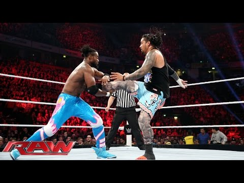 Neville & The Usos Vs. The New Day: Raw – 9. November 2015
