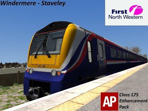 Burnsy Plays: Train Simulator 2020, Ep2: Windermere - Staveley In A FNW Class 175 DMU |