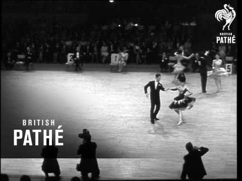 International Ballroom Dancing In Berlin   (1966)