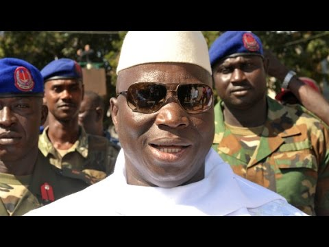 Gambia's President Jammeh rejects election defeat
