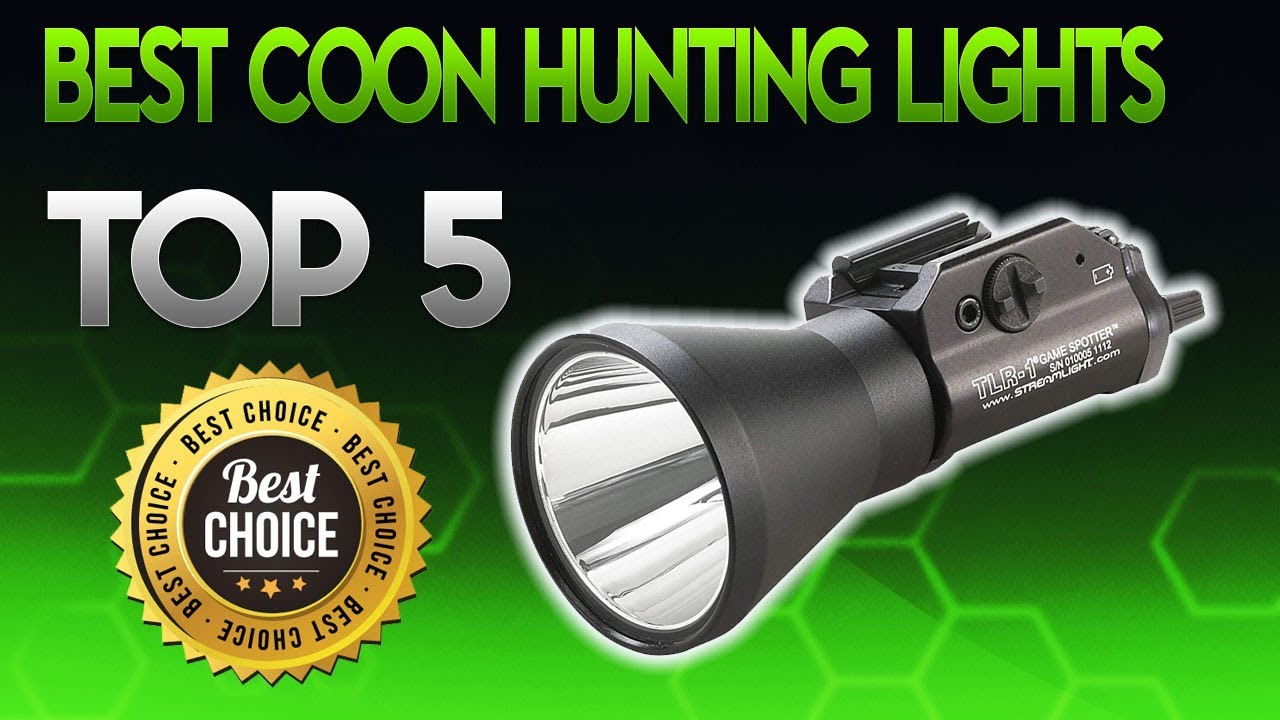 Best Coon Hunting Lights 2019 – Coon Hunting Light Review