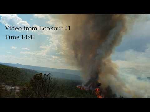 Cedar Fire Entrapment Briefing Video