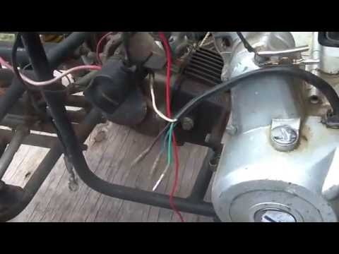troubleshooting a no spark china quad, critical wire harness, Wiring diagram