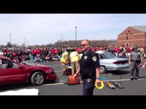 Dangers Of Texting And Driving >> Van Wert High School Mock Crash 2013 - YouTube