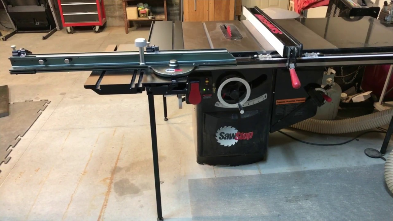 Excalibur Sliding Table For Sale
