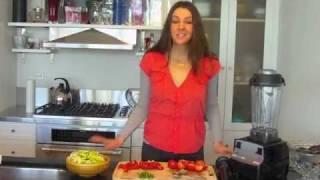 Raw Vegan Recipe: Bell Pepper Marinara Sauce With Organic Avenue!