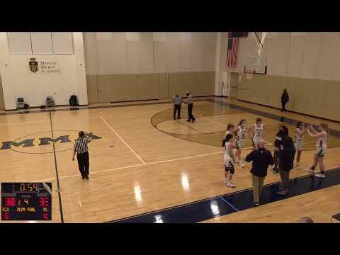 Merion Mercy Academy vs. Nazareth Academy Varsity Womens' Basketball