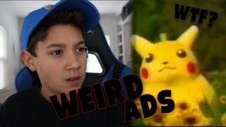 WEIRD JAPANESE NINTENDO ADS! - Weird ads reaction