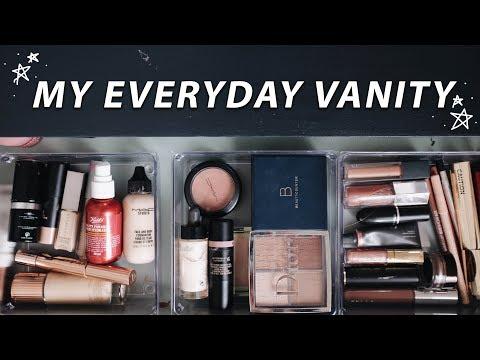 MY EVERYDAY VANITY TOUR! | Jamie Paige