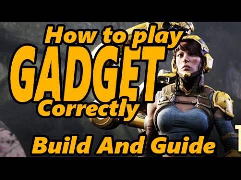 paragon gadget build and guide   how to play gadget