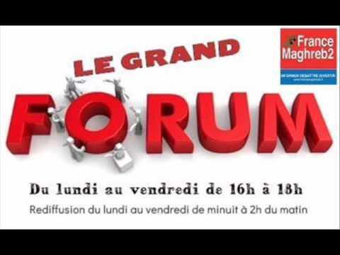 France Maghreb 2 - Le Grand Forum le 18/04/17 : Hocine Ras et Nadiya Lazzouni
