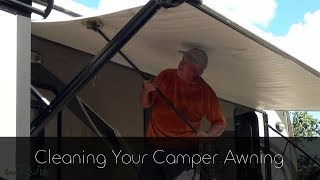 Cleaning Your Camper Awning