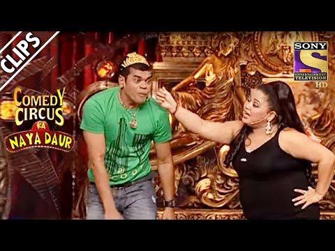 Bharti Teaches Siddharth The Art Of HandStand  Comedy Circus Ka Naya Daur