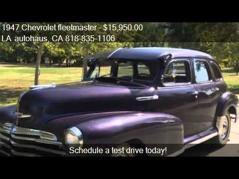 1947 Chevrolet fleetmaster  for sale in VAN NUYS, CA 91406 a