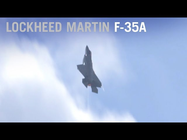 Lockheed Martin's F-35A Flying Display at Paris Air Show 2017 – AINtv Express