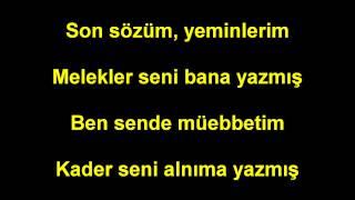 Yusuf Güney Melekler seni bana Yazmis Lyrics