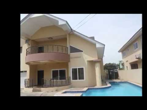 4 Bedroom House To Let In Accra Airport Residential Area