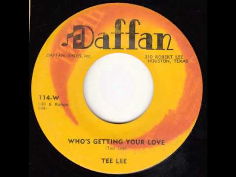 Tee Lee - Whos Getting Your Love (1957)