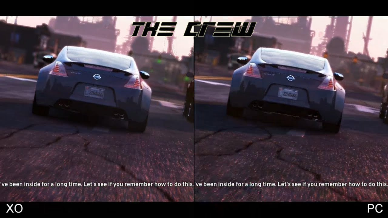 the crew xbox one vs pc ultra settings youtube. Black Bedroom Furniture Sets. Home Design Ideas