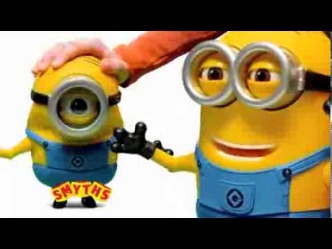 Despicable Me 2 Talking Figures Toy Tv Commercial Tv